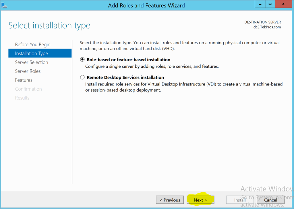Windows 2012 R2 Deploy Certificate Authority Step By Step Part 1